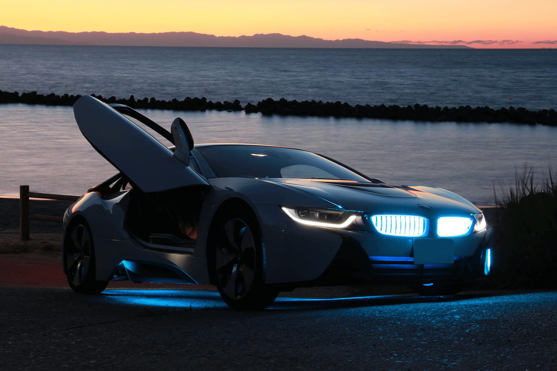 BMW i8 カスタム施工後4