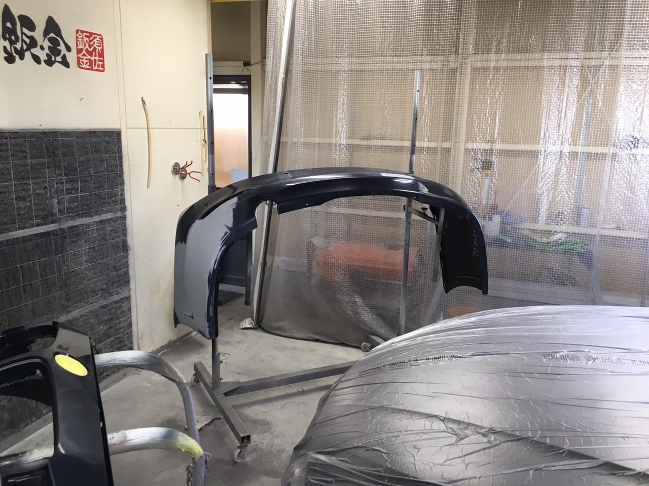 BMW 320i 塗装施工前1