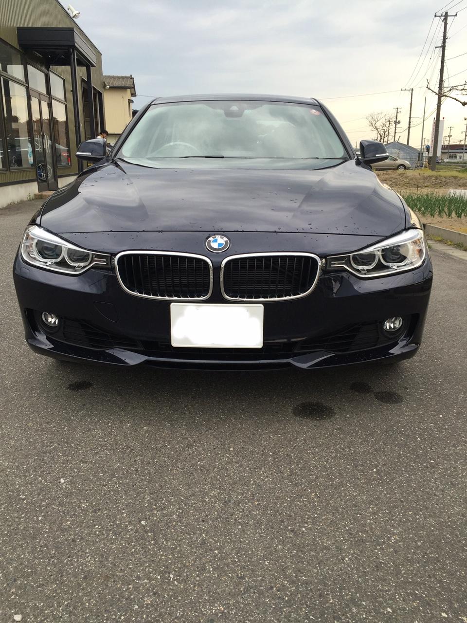 BMW 320i 塗装施工後5