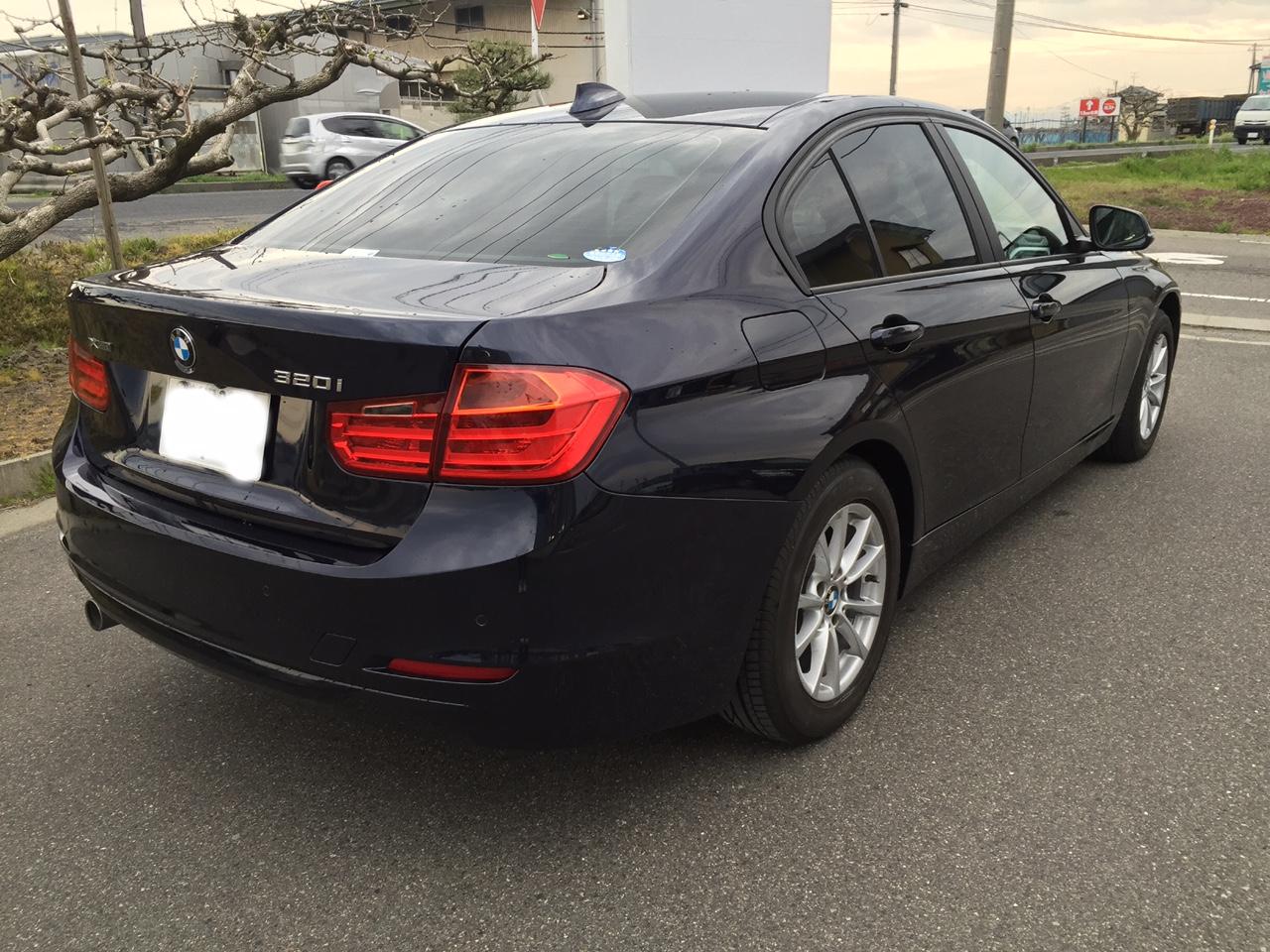 BMW 320i 塗装施工後6